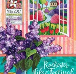 rochester lilac-fest-poster-2017