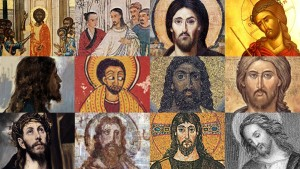 This collage, published by Christianity, illustrates some of the different depictions of Jesus. Theologians say the darker hue is most accurate.