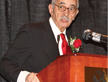 Dr. Wyatt Tee Walker speaks at Virginia Union University's annual Community  Leaders Breakfast in Richmond in January 2008.