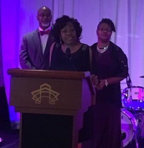 Loretta C. Scott, Black Heritage Committee Chair; Co-Chairs: Leonard L. Merritt and Hazel L. Washington