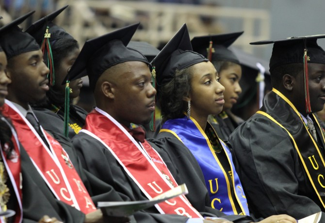 Black Graduation Ceremony at UCR/  Photo: African Student Programs