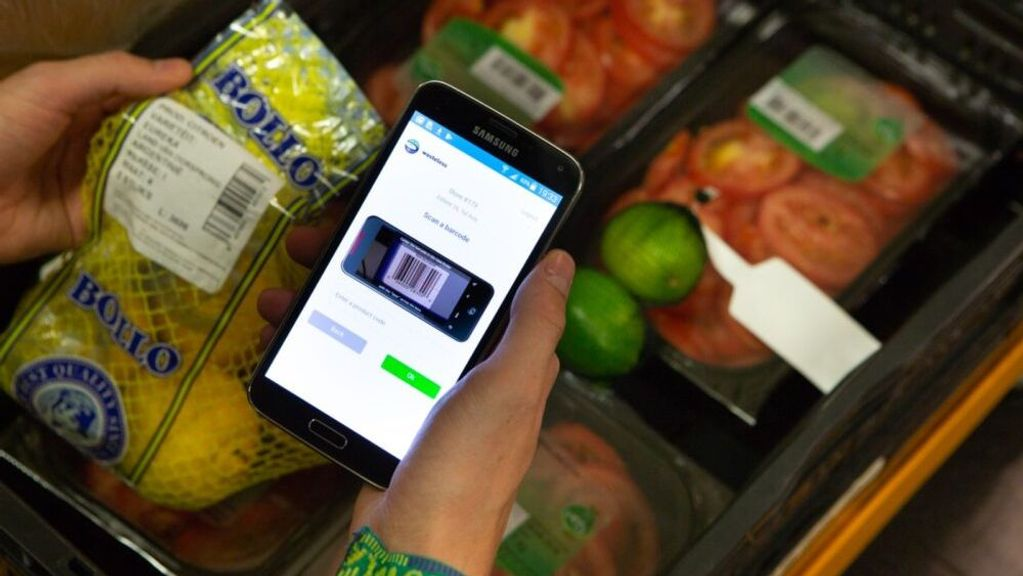 Customers can benefit from dynamic pricing on their mobile phones, too. (Courtesy of Wasteless)