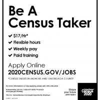 CENSUS TAKERS IN MONROE AND ONONDAGA COUNTY